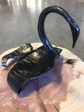 SWAN! Blacksmith Metal Art by Ryan Schmidt - www.mittysmetalart.com - Shop Online Anytime or Visit Us in Cumberland Gap, Tennessee!