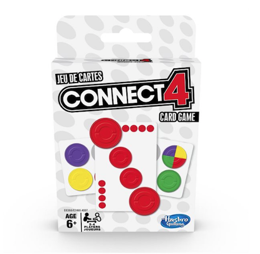 Connect 4 Card Game