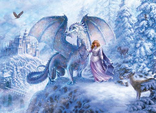 Family Puzzle - Ice Dragon 350pc