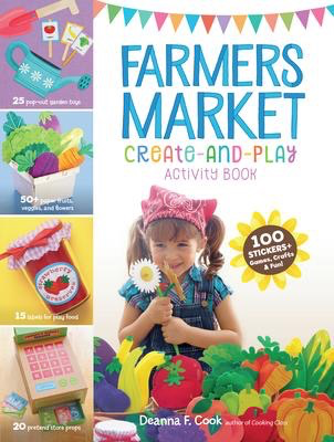 Farmers Market Create-and-Play Activity Book