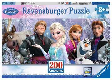 Disney Frozen Friends 200-Piece Puzzle