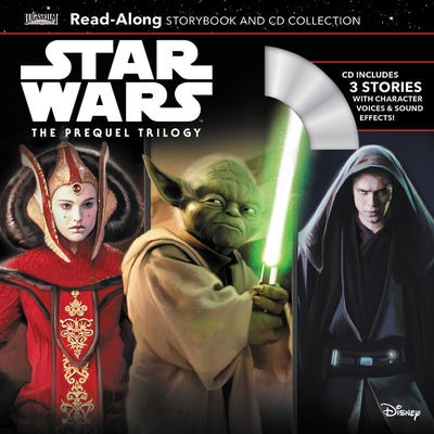 Star Wars The Prequel Trilogy Read-Along Storybook & CD Collection