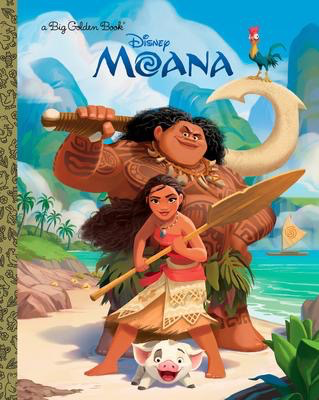 Moana Big Golden Book