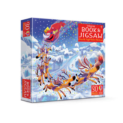 Twas the Night Before Christmas: Book & Puzzle