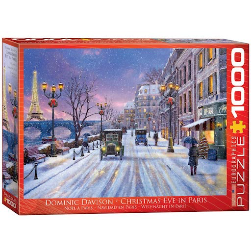 Christmas Eve in Paris 1000 Piece Puzzle