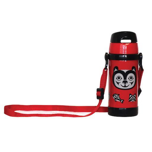 Stainless Steel Insulated Water Bottle - Bear and Friends