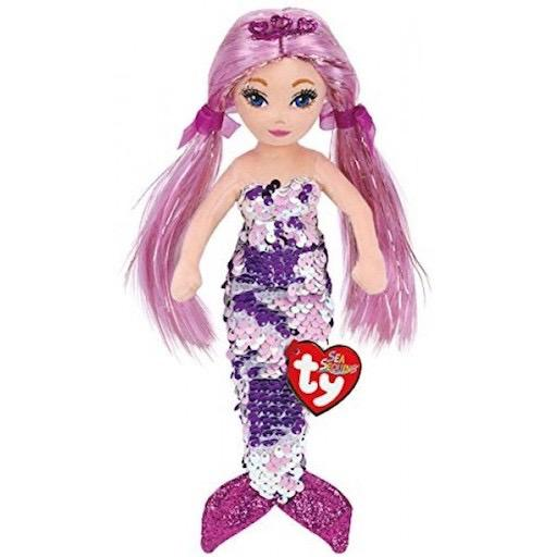 Ty Sea Sequins - Mermaid Lorelei 18""
