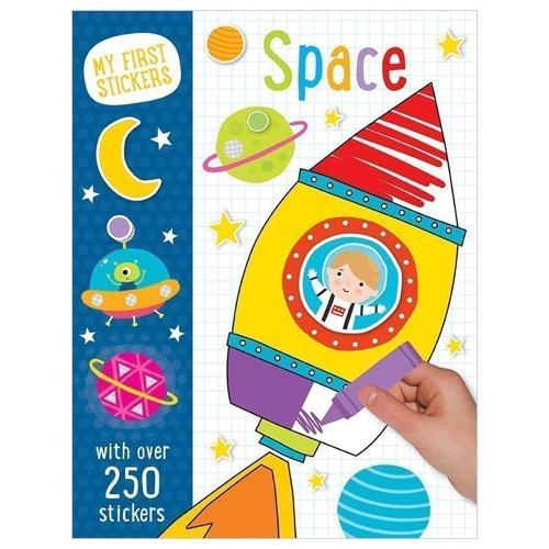 My First Stickers: Space