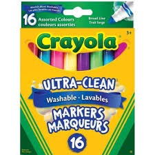 Ultra-Clean Washable Markers 16ct