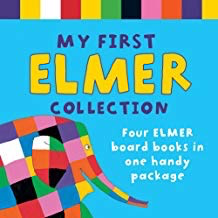 My First Elmer Collection: 4 Books