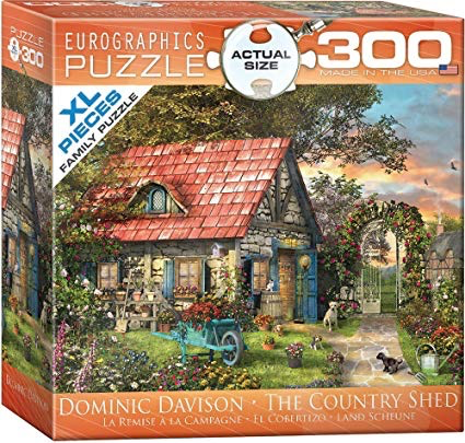 The Country Shed: 300-Piece Puzzle