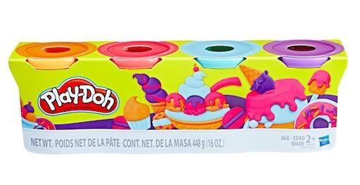 Play-Doh 4 Pack - Sweet Colours
