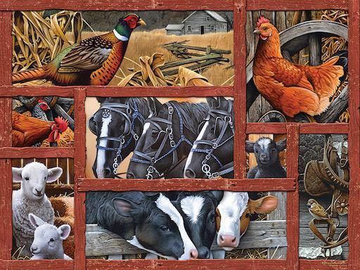 Farmyard Friends 275pc