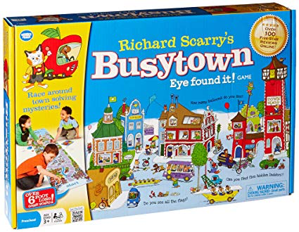 "Richard Scarry's Busytown ""Eye Found It!"" Game"
