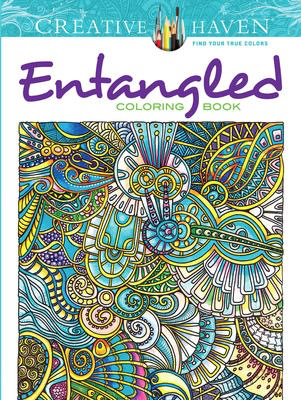 Creative Haven Entangled Colouring