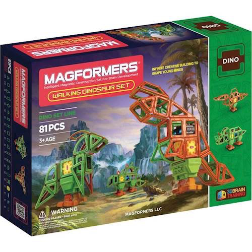 Magformers Walking Dinosaur Set: 81 Pieces