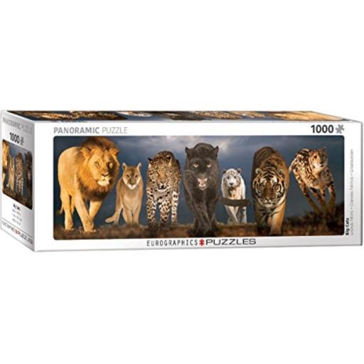 Big Cats Panoramic Puzzle