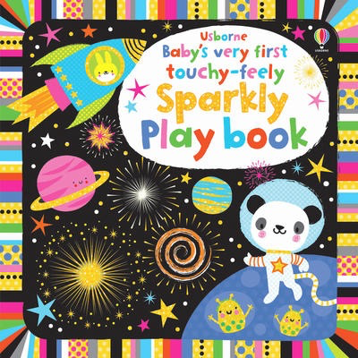 Baby's Very First Touchy-Feely Sparkly Play Book