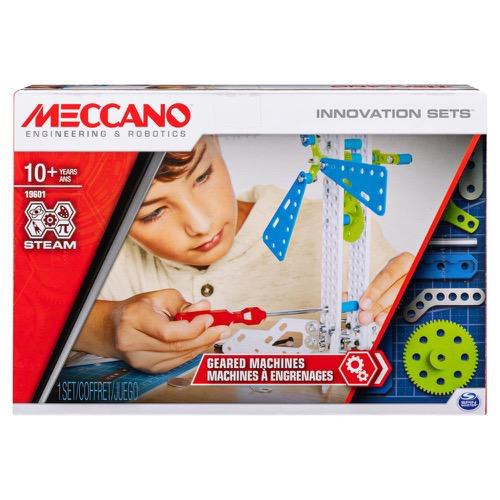 Meccano- Geared Machines