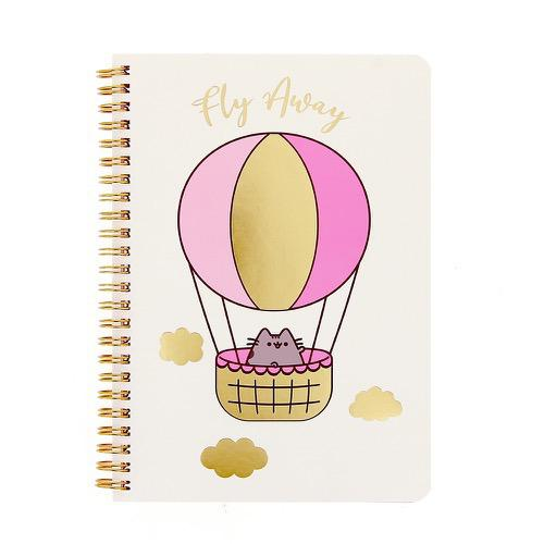 Pusheen- Spiral Notebook