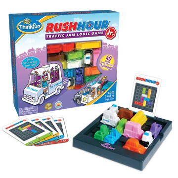 Rush Hour Junior: Traffic Jam Logic Game