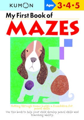 My First Book of Mazes: Ages 3-4-5