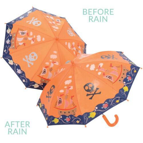 Magic Colour Changing Umbrella - Pirate ship