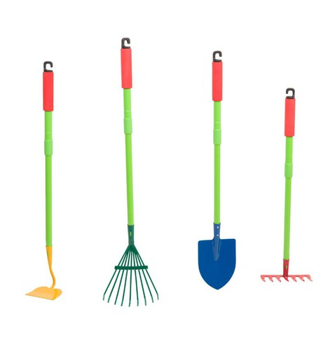 Grow-with-me Garden Tools: Leaf Rake