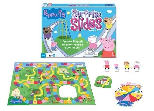 "Peppa Pig ""Surprise Slides"" Game"