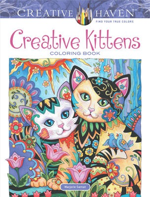 Creative Haven Creative Kittens Colouring