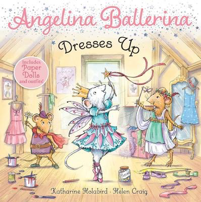Angelina Ballerina Dresses Up