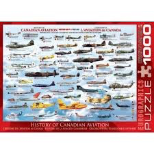 History of Canadian Aviation: 1000-Piece Puzzle