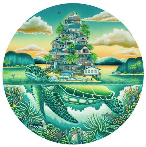 Turtle Cove 500pc (Round)