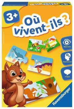 Où vivent-ils ? - French only