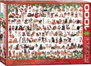 Holiday Dogs 1000 Pc Puzzle