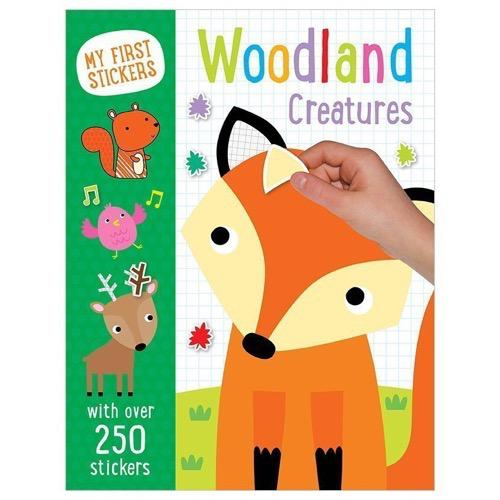 My First Stickers: Woodland Creatures