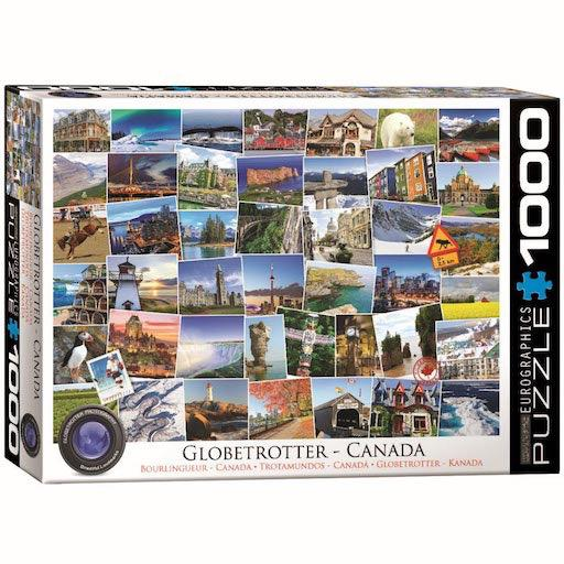 Globetrotter Canada: 1000-Piece Puzzle