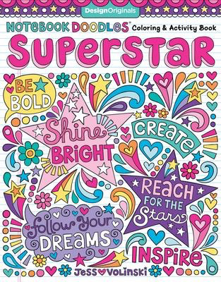 Notebook Doodles Superstar: Coloring & Activity Book