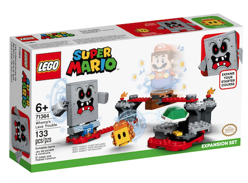 Lego Super Mario Whomp's Lava Trouble Expansion Set