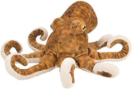 Octopus stuffed animal - 12""