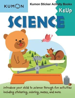 Science K & Up Sticker Activity Book