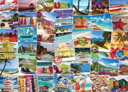 Globetrotter-Beaches: 1000-Piece Puzzle