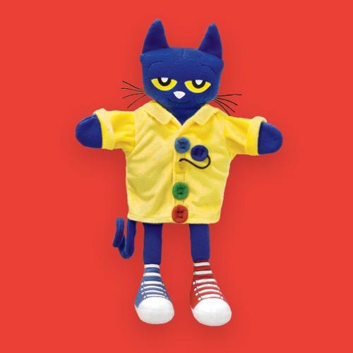 Pete the Cat and His Four Groovy Buttons Puppet 13.5""