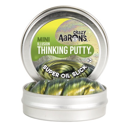 Crazy Aaron's Thinking Putty: Super Oil Slick, Super Illusion, 2