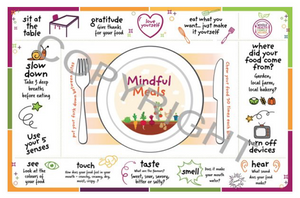Whole Health Family Wellness Placemat - English