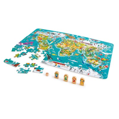 2-in-1 World Tour Puzzle Game