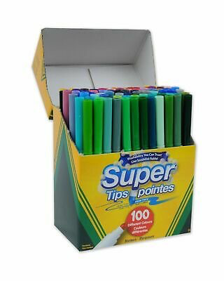 Supertips Markers 100 ct
