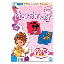 Fancy Nancy Matching Game