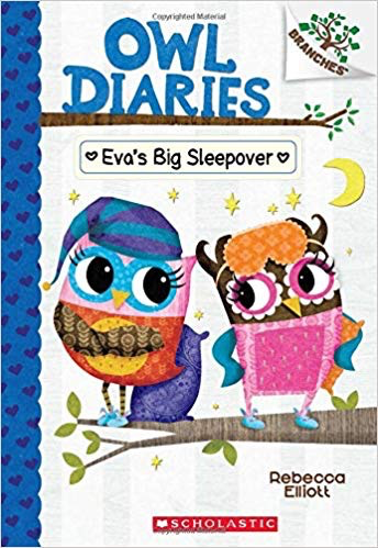 Owl Diaries #9: Eva's Big Sleepover