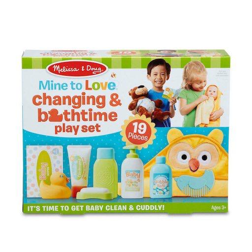 Mine to Love - Changing & Bathtime Playset
